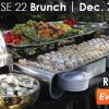 Crevasse 22 Opening Brunch – 10.26.14