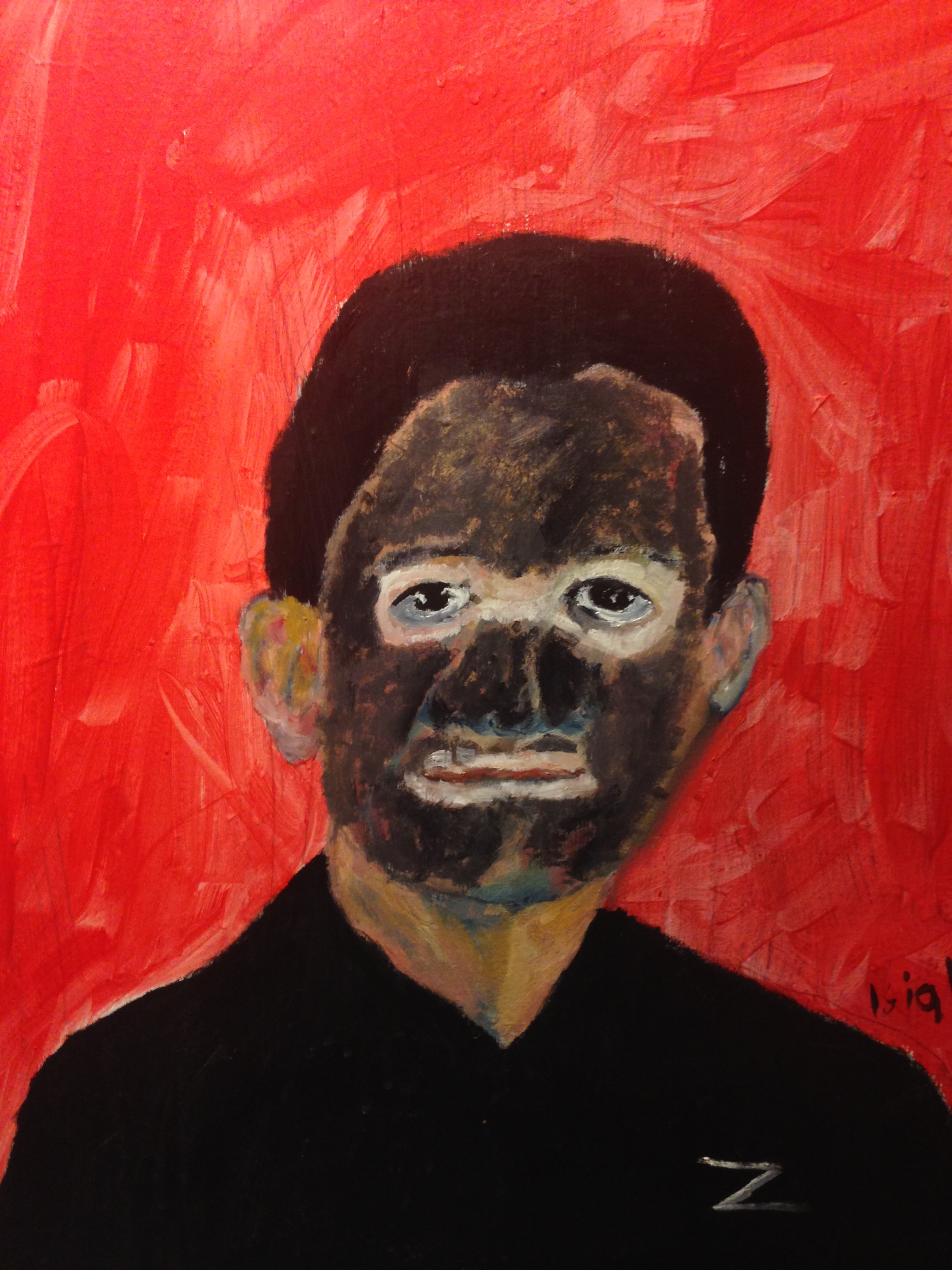 Painting of Paul Ryan Zulu  by: John Isiah Walton