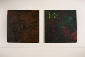 """Brown Paintings"" (Red, Blue & Yellow #11) (Red, Blue & Yellow #12) by Bob Tannen"